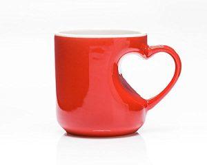 .amazon tazza con manico a cuore