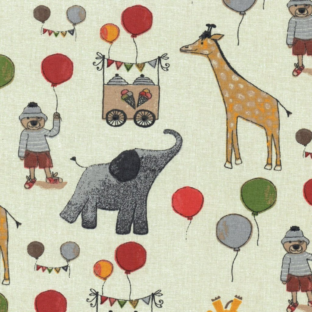 .amazon tessuto il circo 13.95 di Textiles français
