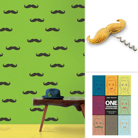 carta da parati Movember-Mustache-Decor