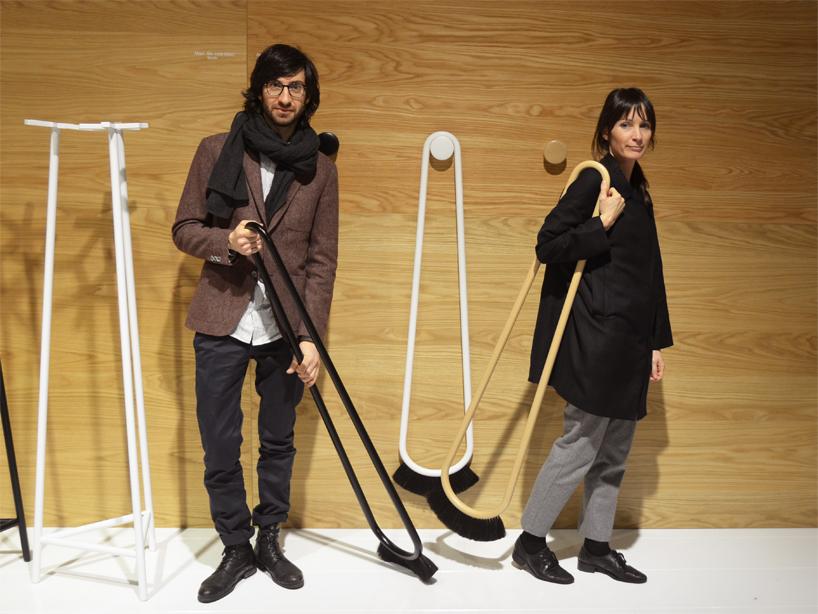 design del duo italo svedese wwwgamfratesi.com la scopa ispirata ai baffi
