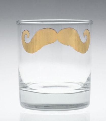eleganza tavola bicchiere disegno in oro per il bicchiere con i baffi liberty 21.00 eu