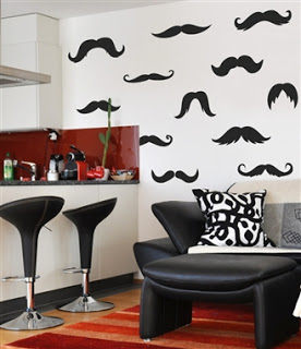 interno stickers WALL-DECALS-Ironic-Mustache