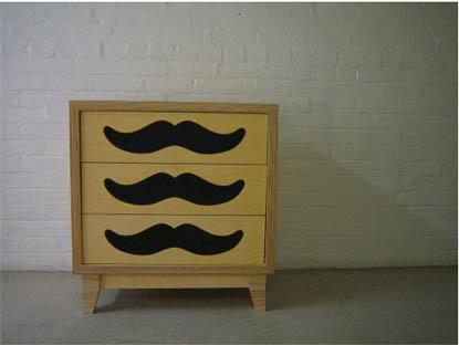 zcomplementi comò mustache dresser