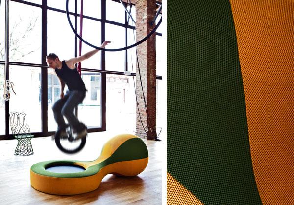 zdesign sneaker seduta e tappeto elastico di giovannilevanti per campeggi 1172 €
