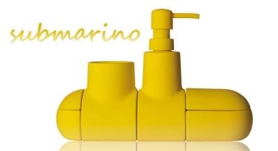 .amazon da bagno composto da 4 elementi magnetici disassemblabili realizzati in porcellana con rivestimento soft tuch seletti 40€