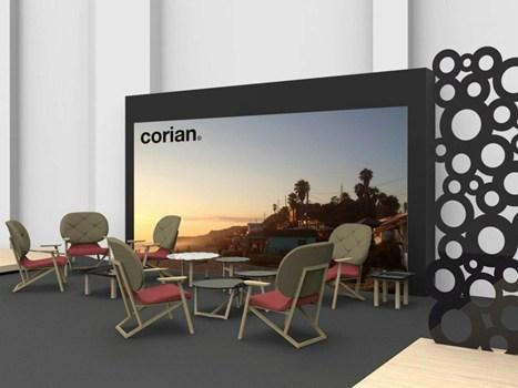 fuorisalone Corian® 2.0 una mostra focalizzata sull'evoluzione di DuPont™ Corian®, organizzata e sponsorizzata da DuPont