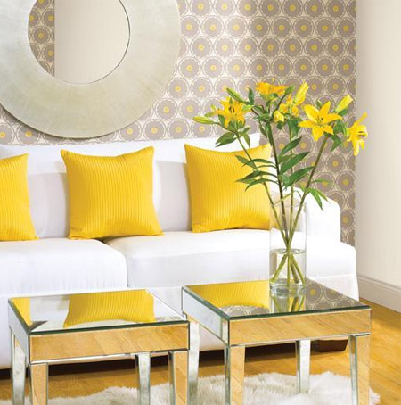 Interior Design Yellow Living Room Decor 3