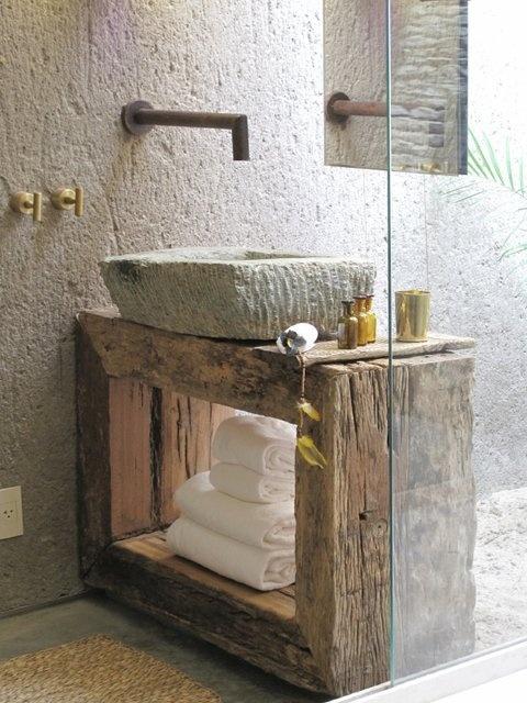 interno mobili di recupero bagno