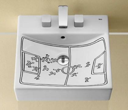 lavabo design roca-javier-mariscal