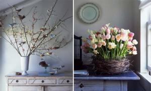 uccelli e fiori