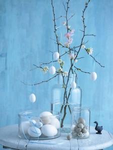 uova e fiori