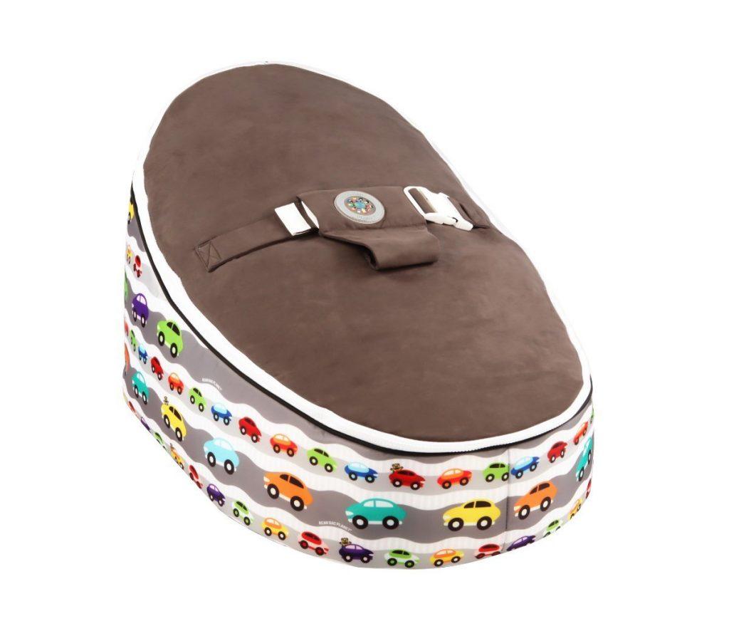 .amazon Bean Bag Planet - Poltrona a sacco per bambini, motivo macchinine