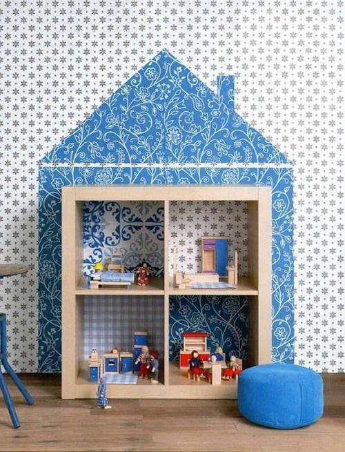 Cameretta luogo fatato architettura e design a roma for Carta da parati bambini ikea