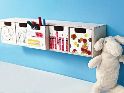 complementi fai da tedisegni come valorizzare i disegni dei bimbi non solo su carta