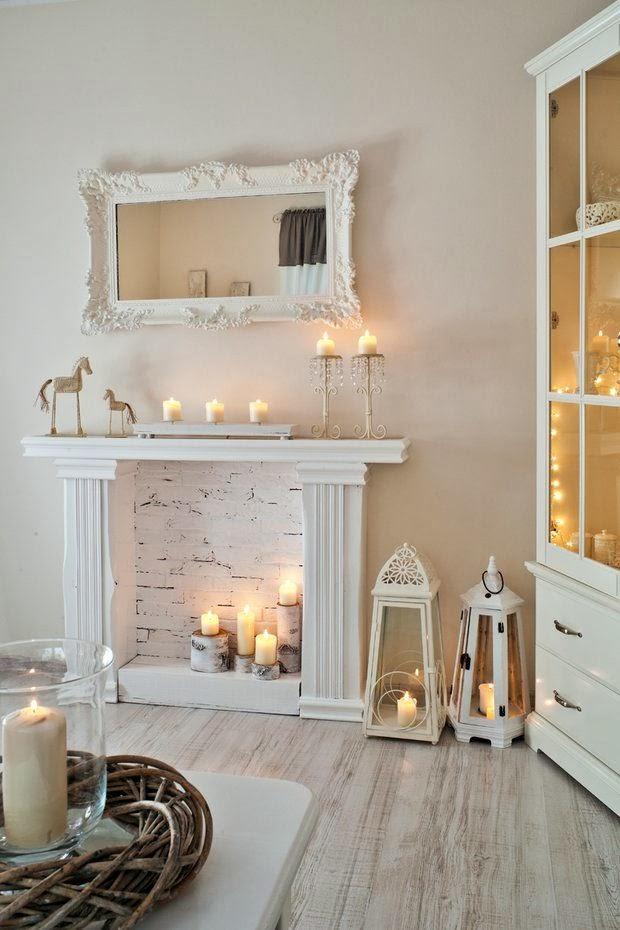 cornice candele