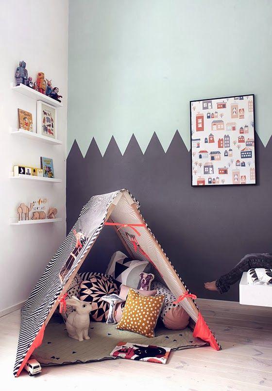 decoro parete e tenda