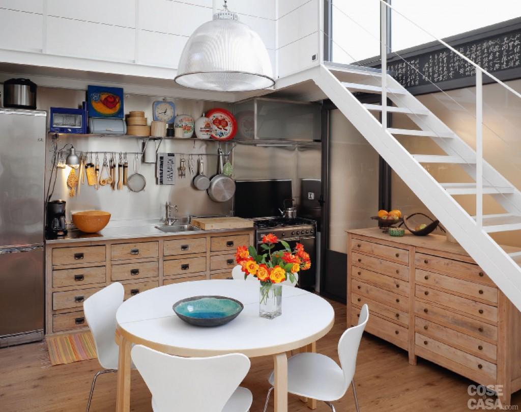 Cucina a vista cucina da esibire architettura e design a roma - Cucina senza elettrodomestici ...
