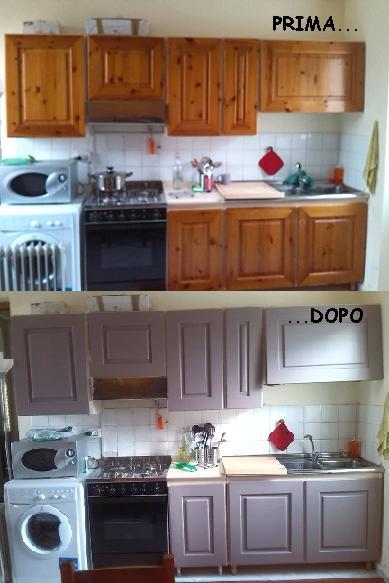 Cucina a vista cucina da esibire blog arredamento - Verniciare la cucina ...