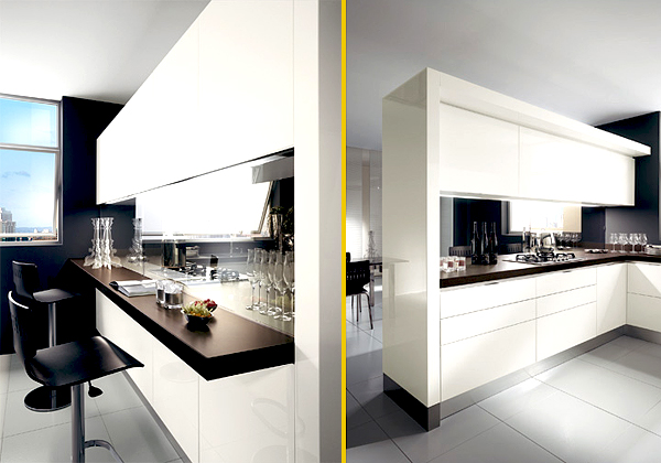 Awesome cucine semi moderne contemporary acrylicgiftware for Errequ arredamenti