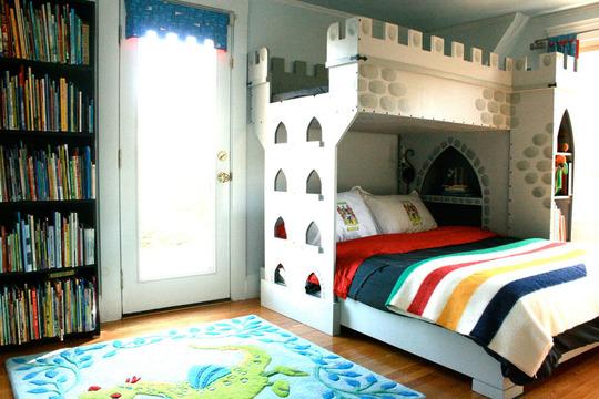 luogo fatato architettura un castello per due principi ecco perchè si chiama letto a castello!