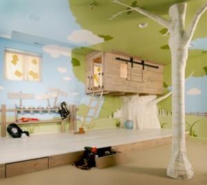 rifugioarchitettura treehouse www.mytropolisdesign.com letto a castello