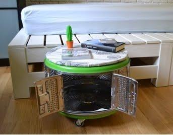 recupero creativo cestello lavatrice