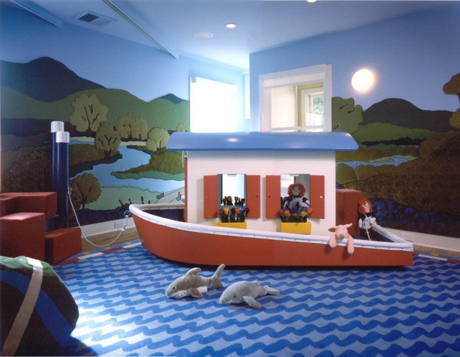 Funny-Playroom-Ideas-Ship-and-Sea-Design-915x710