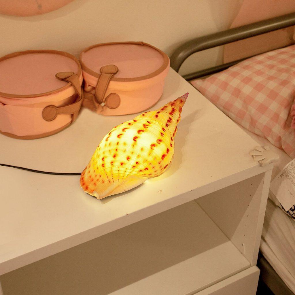 .amazon SoBuy® lampada LED da tavolo, luce notturna led, illuminazione interni led, design