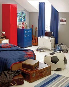 foot awesome-kids-soccer-room-ideas