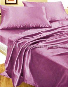 .amazon Completo MATRIMONIALE RASO set lenzuola sopra sotto con angoli 2 fodere cuscini