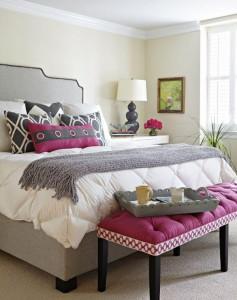 letto orchyd e grigio