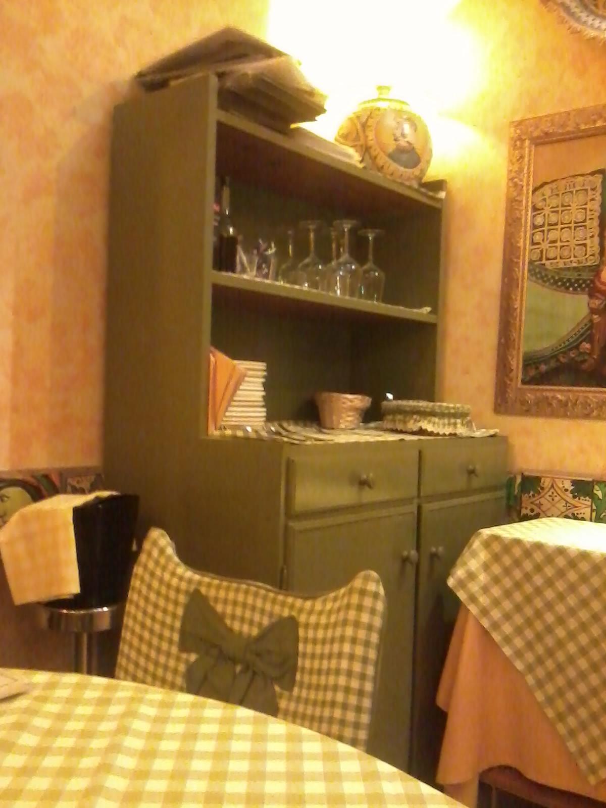 Esempio di incoerenza stilistica nell 39 arredamento di un for Arredamento ristorante italia