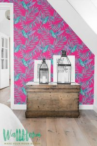 .amazon carta da parati Wallflora colore 2
