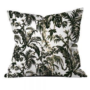 .amazon di di Cipcici foglie di palma nere stile jungla