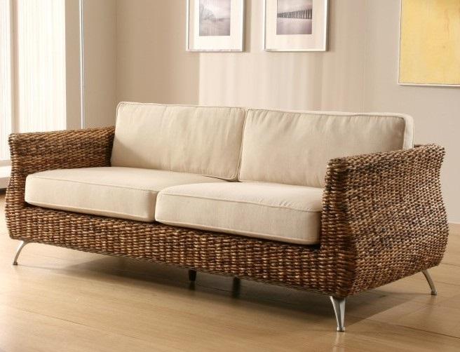 divano in foglie di banano www.etnicoutlet