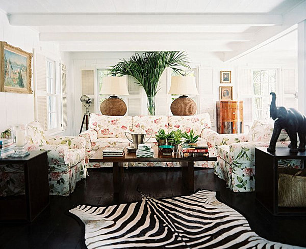 fresh-decorating-ideas-green-living-room-indoor-plants-Zebra
