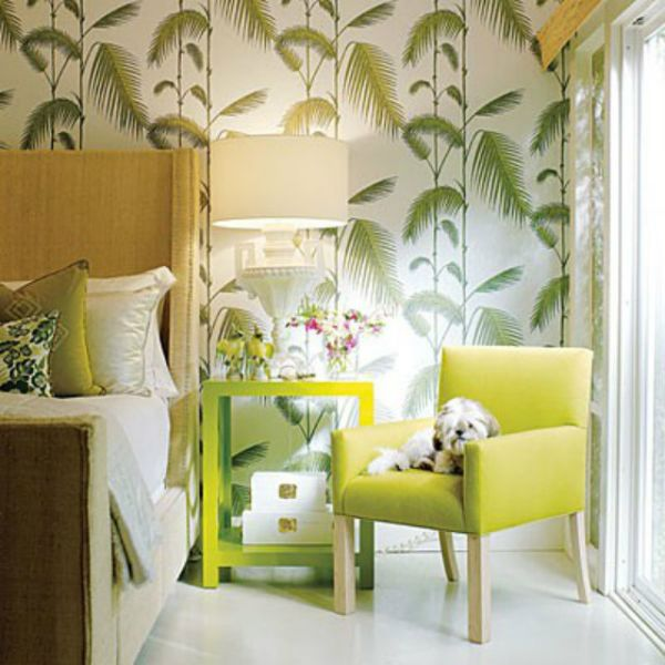 light-green-decorating-ideas-in-bedroom-Wallpapers-pattern