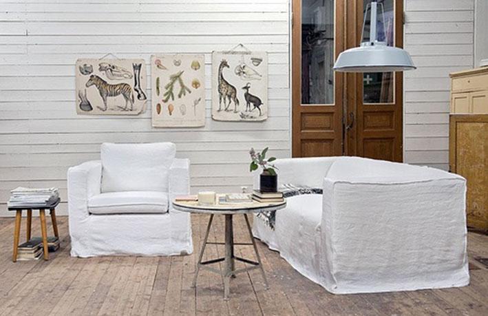8 suggerimenti per realizzare un divano divino low coast for Telo copridivano ikea
