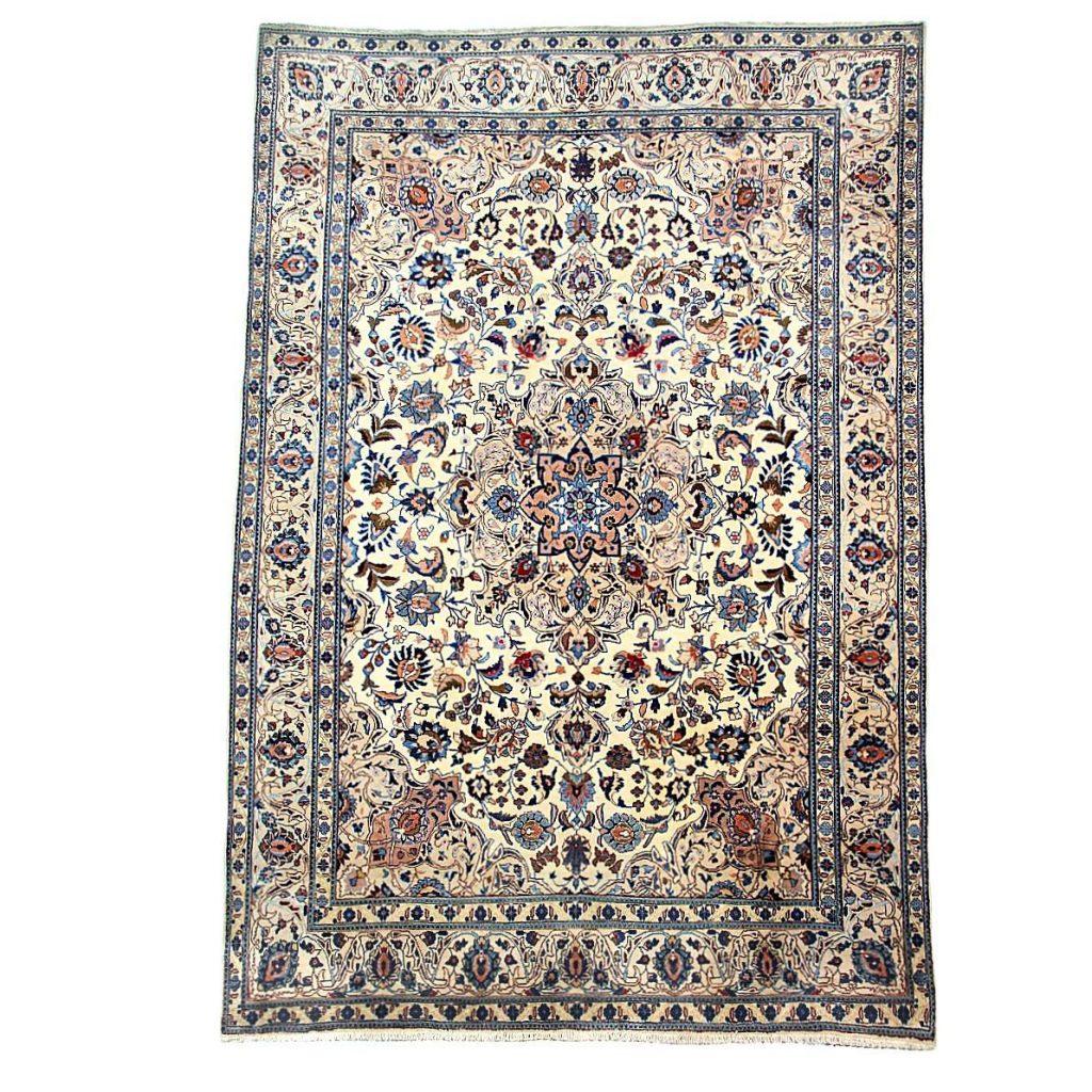 .amazon Tappeto persiano annodato a mano Birgiand - 288X198 cm - misto lana seta di atlas 1400.00