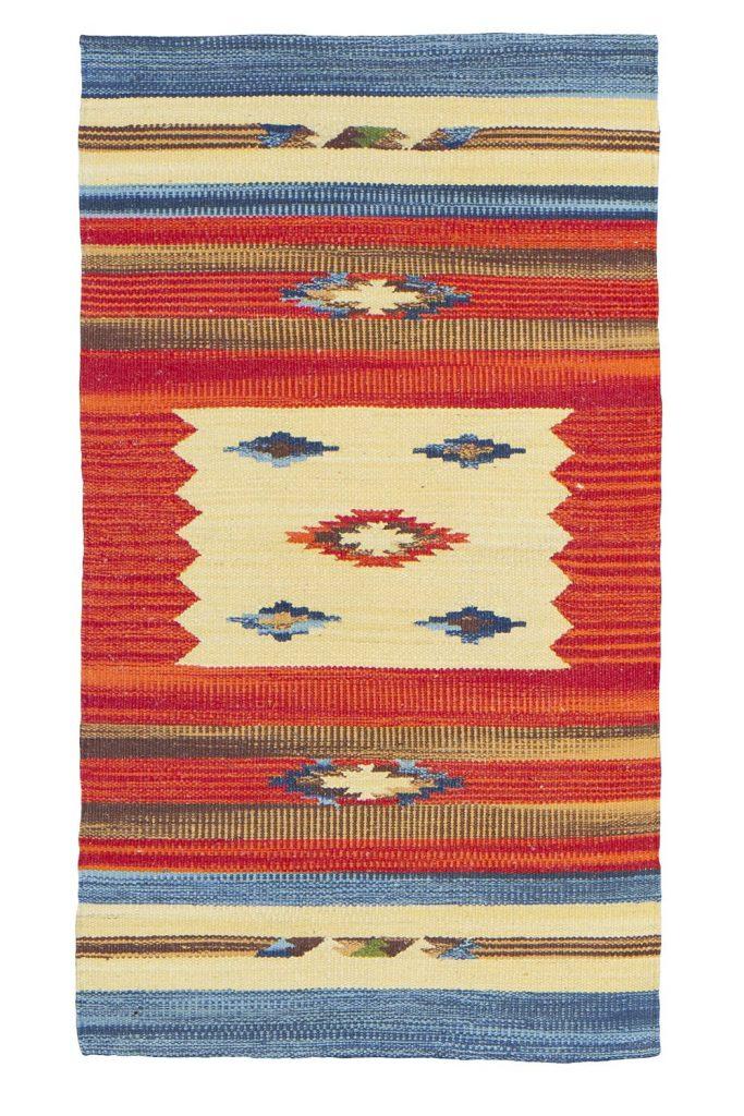 .amazon kilim Jute & Co Kilim Tappeto, Passatoia in Cotone di Alta Qualità Tessuto a Mano, Multicolore, 55 x 90 cm