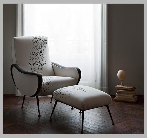 design sedute impertinenti di Fede Lorandi, antiquaria e ricercatrice che si presenta nella veste inedita di designer