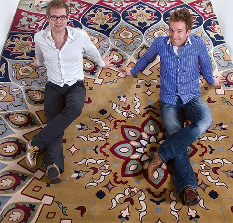 design4 persian carpet explosion di www.studiomango.nl