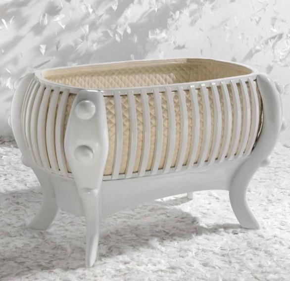 design7Baby Suommo ha presentato una collezione di culle e lettinieleganti ricerca del gusto raffinato e della sicurezza dei materiali e della struttura