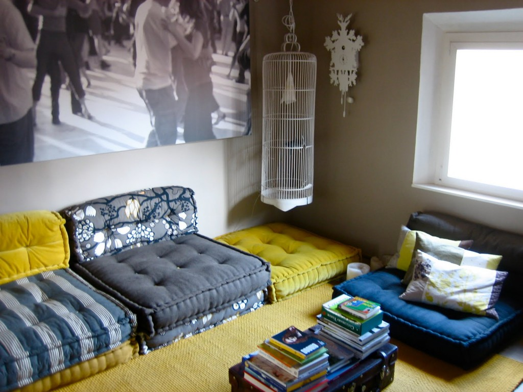 materasso5 chiara melandri martino design da un materasso a un divano a cuscini trapuntati