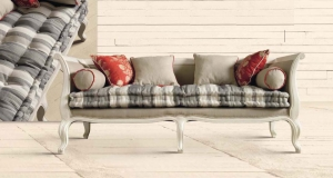 materasso7 riciclato e restaurato può anche essere adagiato su una seduta in stile, recuperata in qualche mercatino e risistemata utilizzando colore e finiture