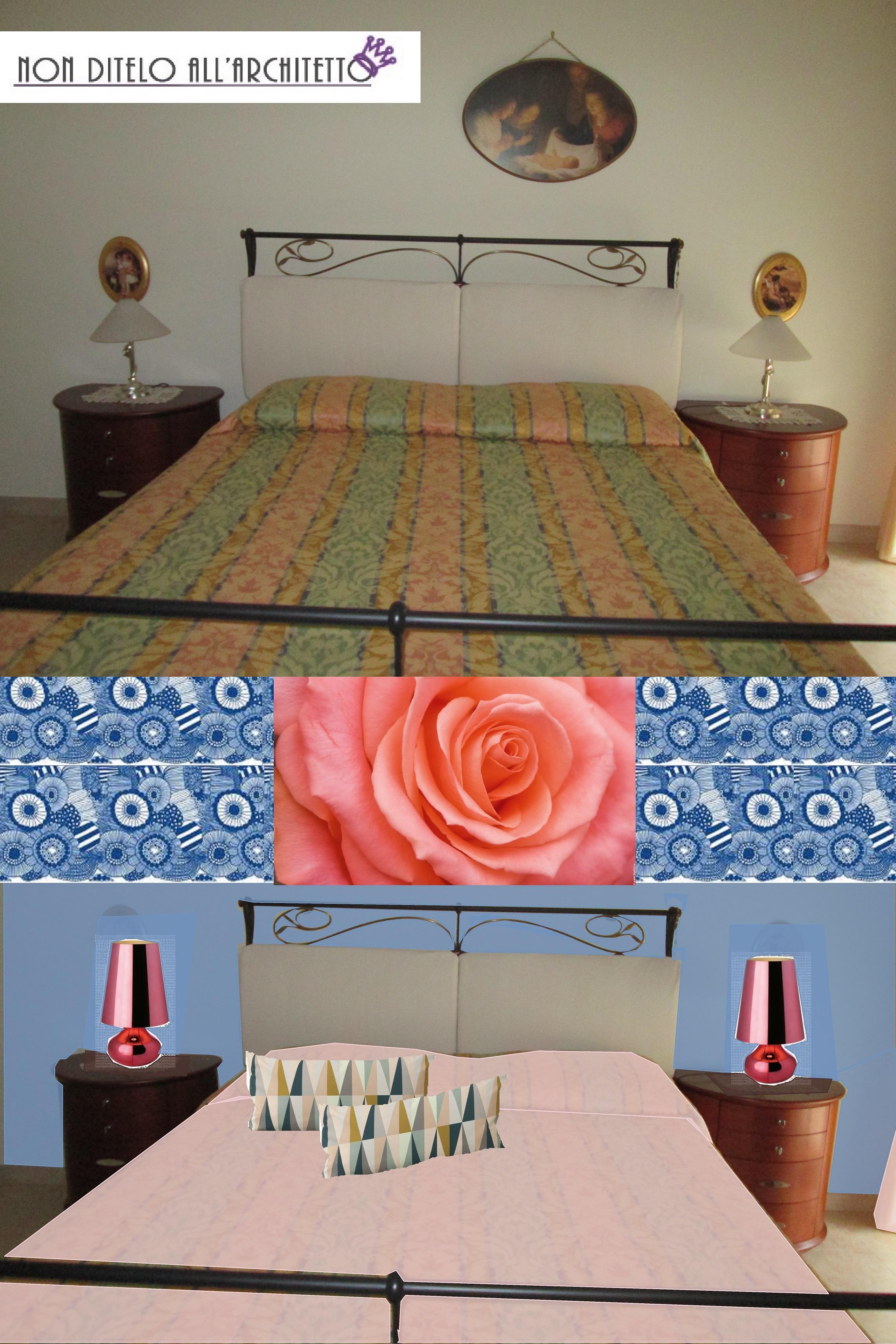 Restyling di una camera da letto classica architettura e - Boiserie camera da letto ...
