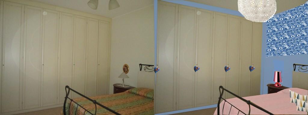 restyling di una camera da letto classica architettura e design a roma. Black Bedroom Furniture Sets. Home Design Ideas