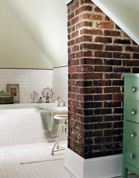 bagno stylish-bathrooms-with-brick-walls-and-ceilings-29