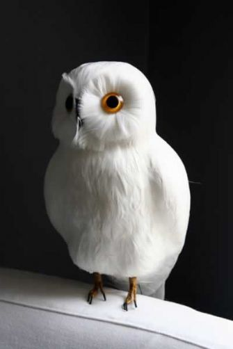 complementi orlando beautifoul white owl artificiale di rockettstgeorge.co.uk 29 sterline