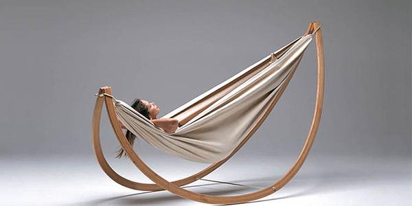design Si chiama Woorock swing l-amaca progettata dall-architetto Georg Bechter